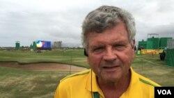 Bob Condron, Olympic golf venue media director (P. Brewer/VOA)