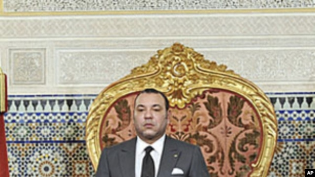 Morocco's King Mohamed (file photo)