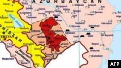 Dağlıq Qarabağ və regionun xəritəsi