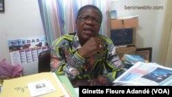 Martin Assogba,Président de l'ONG ALCRER, à Cotonou, le 12 avril 2018. (VOA/Ginette Fleure Adandé)