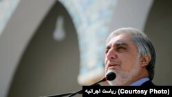 د افغانستان اجرائیه رئیس عبدالله عبدالله