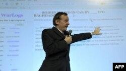 Создатель WikiLeaks Джулиан Ассандж.