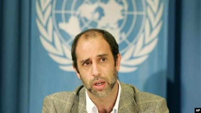 Ðặc sứ Liên Hiệp Quốc Tomas Quintana,