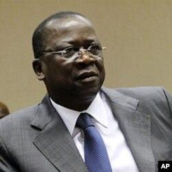 Me Jeannot Kouadio Ahoussou, ministre de justice, garde des sceaux