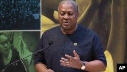 Ghana President John Dramani Mahama.