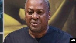 Shugaban Ghana John Dramani Mahama.