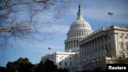 미국 워싱턴의 국회 건물. (자료사진)