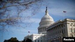 Une vue du siège du Congrès à Washington