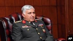 被新任命为三军总参谋长的厄泽尔将军7月29日在安卡拉