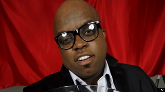 Cee Lo Green, Los Angeles 2010 (Copyright Mick Rock 2012)