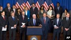 Senat AS hari Kamis (27/6) menyetujui RUU imigrasi dengan suara 68 setuju dan 32 menentang.