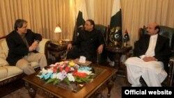 سندھ کے گورنر اور وزیراعلیٰ کی صدر زرداری سے ملاقات