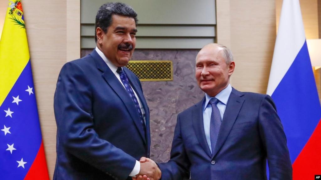 El presidente ruso, Vladimir Putin, es el más importante actor político global que ha dado abiertamente su apoyo al presidente en disputa de Venezuela, Nicolás Maduro.