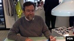 Met Vurker, karikaturista portala Politiko