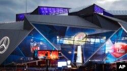 Stadion u Atlanti na kojem se igra Super Bowl.