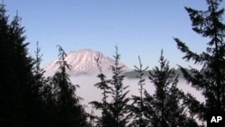 Mt. St. Helen's in the US state of Washington
