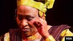 La chanteuse malienne Khaïra Arby