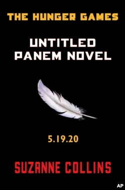 """This image provided by Scholastic shows the cover of a new untitled """"Hunger Games"""" novel by Suzanne Collins. The novel, set to be released May 19, 2020, is a prequel set 64 years before the beginning of her multimillion-selling trilogy. Collins said in"""