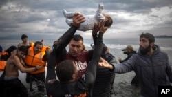 ده ها هزار پناهجو سال گذشته در مسیر پر خطر دریایی به اروپا غرق شد.