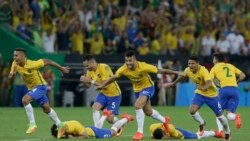 Rio အိုလံပစ္ ဗိုလ္စြဲ ဘရာဇီးလ္အသင္း