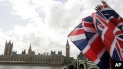 영국 런던의 의회 건물. (자료사진)