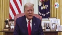 Trump pide calma