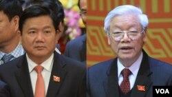 """Ông Đinh La Thăng từng được coi là """"ngôi sao đang lên"""" trên chính trường Việt Nam."""