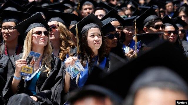 Sinh viên quốc tế chiếm khoảng 4,2% tổng số sinh viên nhập học tại các trường đại học ở Mỹ.