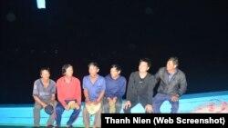 Tư liệu: 6 ngư dân được cứu sau khi bị tàu TQ đâm chìm ngày 20/4/2018 ở Hoàng Sa