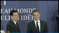 胡锦涛:欧洲必须解决债务问题
