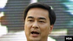 Perdana Menteri Thailand Abhisit Vejjajiva (foto: dok) menyerukan perundingan bilateral untuk menyelesaikan sengketa dengan Kamboja.