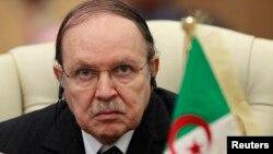 Presiden Aljazair, Abdelaziz Bouteflika (foto: dok). Bouteflika diduga menderita sakit parah dan dikhawatirkan mendekati saat-saat terakhir hidupnya.