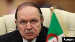 FILE - Algeria's President Abdelaziz Bouteflika.