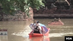 Hujan deras yang melanda Thailand dua bulan terakhir telah mengakibatkan banjir di beberapa wilayah.