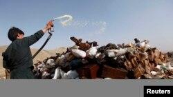 Los narcóticos son uno de los grandes problemas que enfrenta Afganistán.