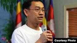 Mr. Chau Serey, Vice President of the KhmersKampuchea Krom Federation in the United States. (Courtesy of Prey Nokor News)