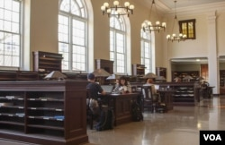 Ruofei Chen's favorite study place is the Matheson Reading Room in the Robert W. Woodruff Library.