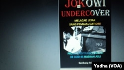 E-book Jokowi Undercover beredar di internet (Foto: VOA/Yudha)