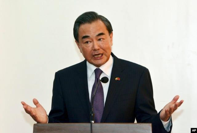 Ngoại trưởng Trung Quốc Vương Nghị cảnh báo rằng những tuyên bố của G7 có thể khiến tình hình biển Đông trở nên xấu đi.