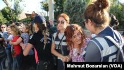 Turkey teacher protests