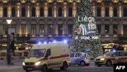 Vụ tấn công xảy ra tại một quảng trường đông người ở thành phố Liege hôm 13/12/2011.