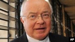 今年6月受到性侵儿童后被罗马教廷剥夺神职的大主教的约瑟夫•维索洛斯基