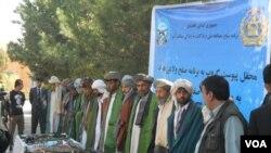 گروه مسلح مخالف دولت امروز با روند صلح پیوست.