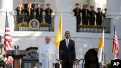 Papa Francisco e Barack Obama