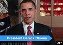 奥巴马总统呼吁民众参与人口普查