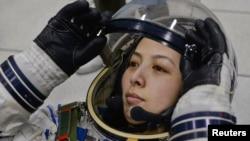 中国女宇航员王亚平 (资料图片)
