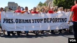 Marš za reformu imigracionog sistema u SAD, Vašington 2014.