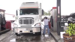 """Condutores de camiões """"paralisam"""" o Brasil"""