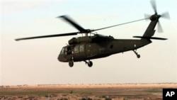 16일 아프가니스탄에서 추락한 헬기와 같은 기종인 UH-60 블랙 호크.