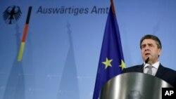 د جرمني د بهرنیو چارو وزیر زیگمار گبریل وویل د سوریی په اړه د امریکا د څرگند دریځ ملاتړ کوو